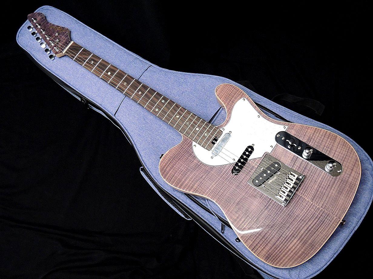 ギター, エレキギター AriaProII 615-AE200 LV Lavender 3PU
