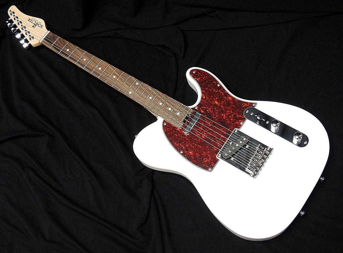 ギター, エレキギター SCHECTER OL-TL WHT