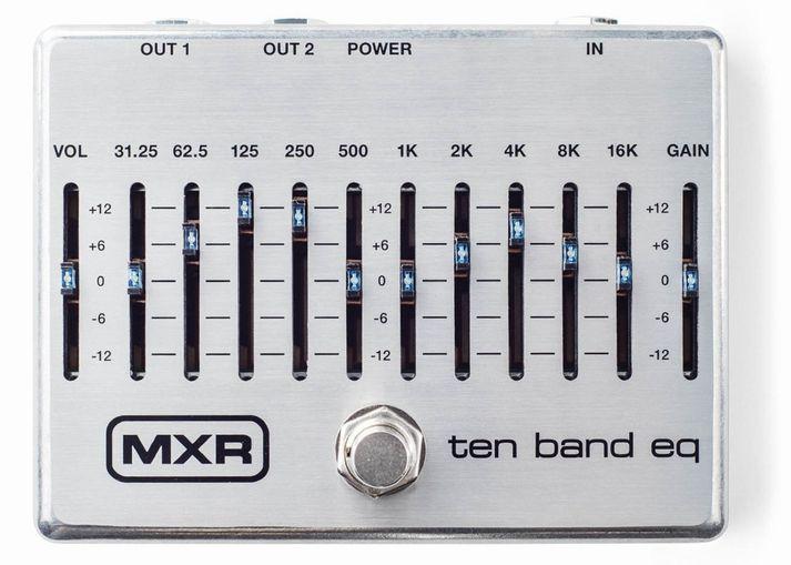 ベース用アクセサリー・パーツ, エフェクター MXR M108S 10 Band Graphic EQ AC