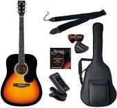 SepiaCrueWG-10VSアコースティックギター初心者セットセピアクルーサンバースト【新品アウトレット】【送料無料】