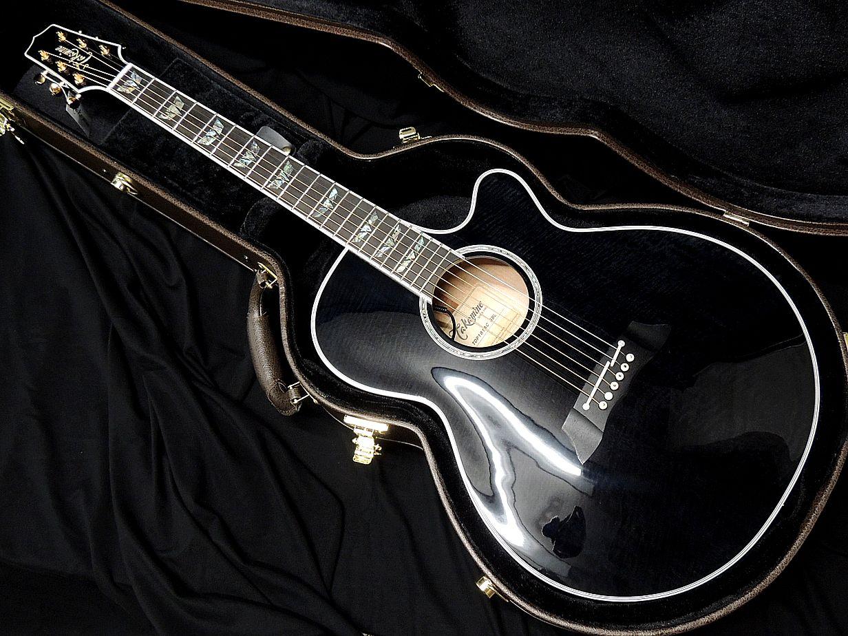 ギター, エレアコギター Takamine TDP181AC SBL