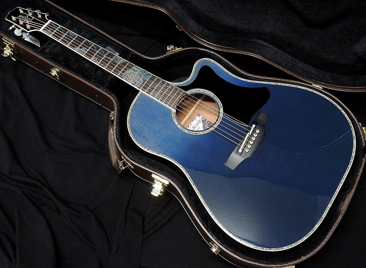 ギター, アコースティックギター Takamine LTD2021 -Blue Rose- 800