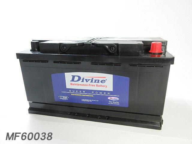 MF60038【新品・充電済み】 Divineバッテリー ◆ ジャガー Sタイプ XF XJ XJ12 XJ6 XJ8 XJR XK XK8 XKR スーパーV8 ソリブン デイムラー