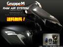GruppeM ラムエアーシステム [FJクルーザー GSJ15W 左ハンドル車にも適合] グループM エアクリ RAM AIR SYSTEM 送料無料(代引除...
