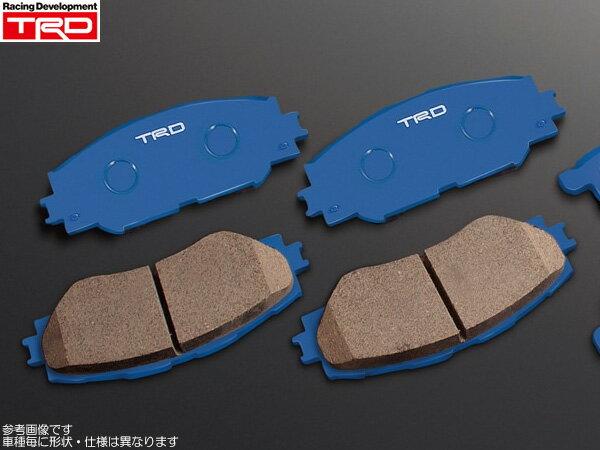 ブレーキ, ブレーキパッド TRD 1 ZVW30
