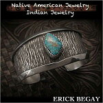 ����å��ӥ���/ErickBegay/�Х󥰥�/�֥쥹��å�/cuff/apache/blue/turquoise/sterling/silver