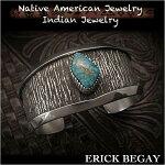 エリックビゲィ/ErickBegay/バングル/ブレスレット/cuff/apache/blue/turquoise/sterling/silver