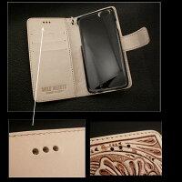 iPhone.6/6s.手帳型.レザー.ケース.アイフォン.6,アイフォン7カービング,ハンドメイド,本革,サドルレザー,タン,ナチュラル,ターコイズ