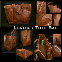 Cowhide/Leather/Tote/bag/shoulder/bag/WILD/HEARTS/leather&silver
