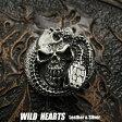 コンチョ スカル & コブラ スネーク シルバー925 Concho Skull & Cobra/Snake Sterling Silver 925 WILD HEARTS Leather&Silver(ID co2350)