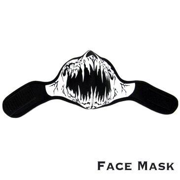 フェイスマスク スカル/ドクロ フェイスウォーマー マスク バイカー Face Mask Skull Mask Winter Warmer Half Face Mask(ID sfm1t6)