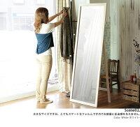 ■送料無料■【即納】木製ジャンボミラー120cm幅天然木【RCP】