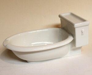 洋式トイレの形をした、カレー皿です!ラッピング無料!便器のカタチのカレー皿 洋式