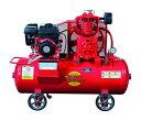 富士コンプレッサー 2.2kW SW-33N ESB 空冷二段圧縮エンジン搭載形コンプレッサ (単胴形) 自動アンロー...