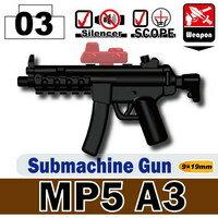 ブロック, パーツ単品  LEGO SWAT MP5A3