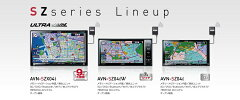 ECLIPS イクリプス AVN-SZX04I 9インチ4×4フルセグSDナビ 32GB DVD 音楽録音 Bluetooth