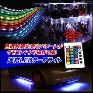 6m・7m・12m連結RGB/LEDテープ12V・24V・100V/正面発光/LEDテープライト(到着後レビュー記載で...