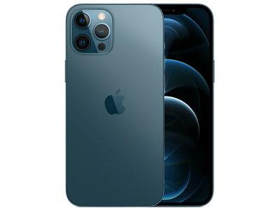 iPhone12ProMax128GBパシフィックブルーMGCX3J/A