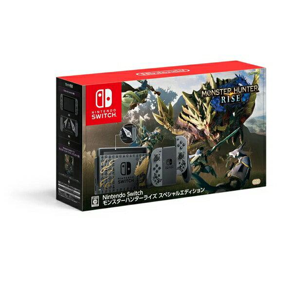 新品 NintendoSwitchモンスターハンターライズスペシャルエディション