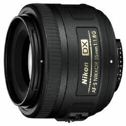 Nikon 単焦点レンズ AF-S DX NIKKOR 35mm f/1.8G ニコンDXフォーマット専用【送料無料】【新品...