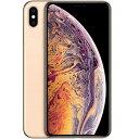 iPhone XS Max 256GB SIMフリー(ゴールド)MT6W2J/A 新品未開封 携帯電話 スマートフォン