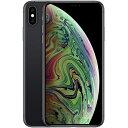 iPhone XS Max 256GB SIMフリー(スペースグレイ)MT6Q2J/A 新品未開封 携帯電話 スマートフォン