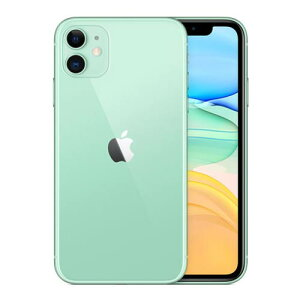 AppleiPhone11128GBSIMフリー[グリーン]新品未開封携帯電話スマートフォン