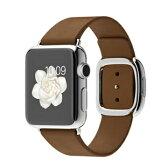 新品 Apple/アップル Apple Watch 38mm Lサイズ MJ3D2J/A [ブラウンモダンバックル] アップルウォッチ 送料無料