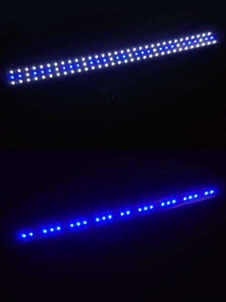【令和企画☆最大1,200円OFFクーポン】 アクアリウムライト 水槽用照明 1200/96発LED 120cm~150cm