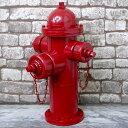 アメリカンレトロ 消火栓 置物 オブジェ 雑貨 模型 アメリカン雑貨 ブリキ アイアン ヴィンテージ 【BZ-02】