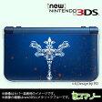 【new Nintendo 3DS/ new Nintendo 3DS LL/ Nintendo 3DS LL 】 カバー ケース ハード クリアデザインケース / 十字架2 クロス ホワイト メール便送料無料 任天堂 スリー ディーエス ニュー 新型 ニンテンドー