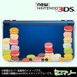 【new Nintendo 3DS/ new Nintendo 3DS LL/ Nintendo 3DS LL 】 カバー ケース ハード クリアデザインケース / マカロン カラフル スイーツ カワイイ メール便送料無料 任天堂 スリー ディーエス ニュー 新型 ニンテンドー
