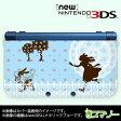 【new Nintendo 3DS/ new Nintendo 3DS LL/ Nintendo 3DS LL 】 カバー ケース ハード / アリス1 ブルー ウサギ 不思議の国 カワイイ メール便送料無料 任天堂 スリー ディーエス ニュー 新型 ニンテンドー キャラクター