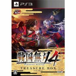 【新品】PS3ソフト 戦国無双4 TREASURE BOX (限定版) KTGS-30255 (k 生産終了商品