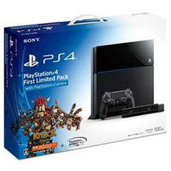 【予約販売★送料無料】PS4本体Playstation4FirstLimitedPackwithPlaystationCamera