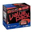 【新品】PS VITA本体 PlayStation Vita Value Pack Wi-Fiモデル レッド ブラック