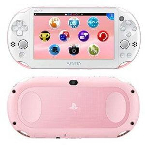 【予約販売★キャンセル不可】Vita本体PlayStation(R)VitaWi-Fiモデルライトピンク/ホワイト(PCH-2000ZA19)