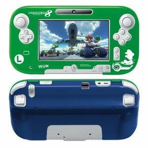 【予約販売】WiiUソフトマリオカート8プロテクトケースforWiiUGamePadルイージ(充電スタンド対応)