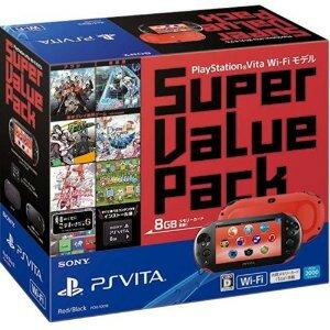 【新品】PSVITA本体PlayStationVitaSuperValuePackWi-Fiモデルレッド/ブラック