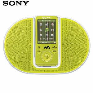 【新品】発売中!SONYソニーNW-S638FK G ウォークマン8GB/グリーンスピーカー付属WALKMANメモリ...