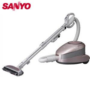 【新品】発売中!SANYOサンヨーSC-XD1000P掃除機/パールピンク空間清浄サイクロンクリーナーエ...