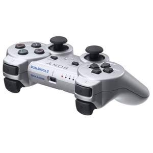 【新品】発売中!PS3ワイヤレスコントローラーDUALSHOCK3 CECHZC2J SSサテン・シルバー/無線Blu...