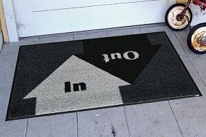 玄関マットINandOUT50x75cm(屋外・屋内兼用)