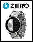 【ZIIIRO JAPAN公式】 ZIIIRO ジーロ 時計 ルナ シルバー ブラック 銀 黒【ドイツ デザインウォッチ】Lunar Chrome 腕時計 ユニセックス対応 ペア おしゃれ プレゼント