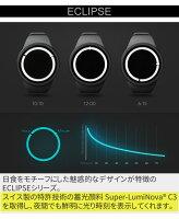 【送料無料】【日本正規代理店】ZIIIROジーロ時計エクリプス黒/青【ドイツデザインウォッチ】EclipseBlackOcean腕時計Z0012WBBLユニセックス対応ペアおしゃれプレゼント