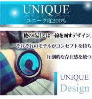 【日本正規代理店】ZIIIROジーロ時計エクリプス黒/青【ドイツデザインウォッチ】EclipseBLK/Ocean腕時計Z0012WBBL