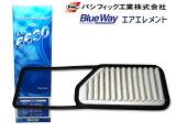 タント L375S L385S 2007.12〜2011.6 エアーエレメント エアークリーナー AX-6630 パシフィック工業 BlueWay