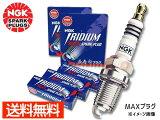 NGK イリジウム MAX プラグ ミラココア L675S L685S 3本 LKR6AIX-P 91820 ネコポス 送料無料