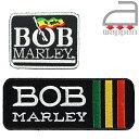 アイロンワッペン//BOB MARLEY〈A〉クラシカルロゴ 〈B〉ボブ・マーリー×階級章 (レゲエ Taff Gong 腕章)