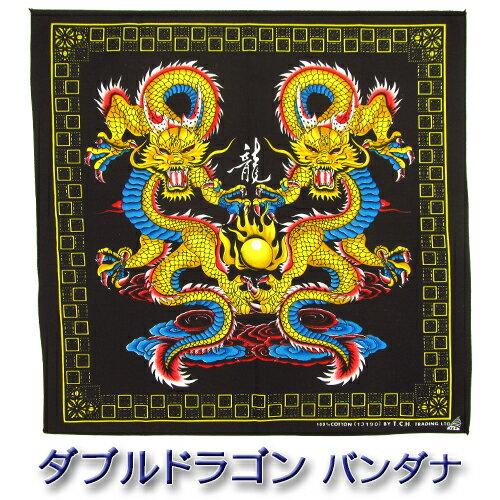 ハンカチ・ハンドタオル, メンズハンカチ  100 (Dragon )